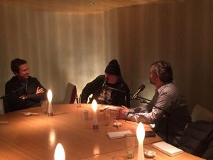 """Leopard Studio Recording Judd Apatow, Artie Lange and Pete Holmes for the """"You Made It Weird"""" Podcast"""
