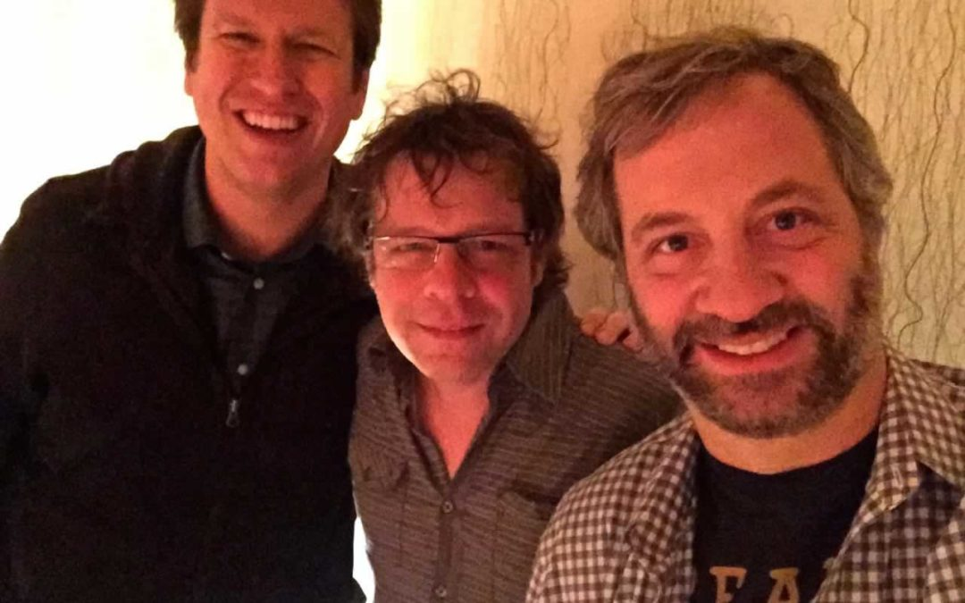 "Recording Judd Apatow, Artie Lange and Pete Holmes for the ""You Made It Weird"" Podcast"